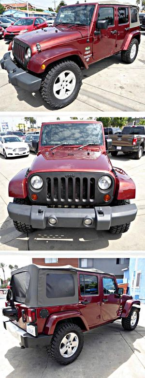 2010 Jeep Wrangler Unlimited Sahara 4WD for Sale in South Gate, CA
