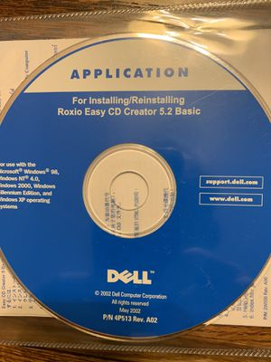 Roxio CD Creator 5.2 Basic CD for Sale in Quincy, IL