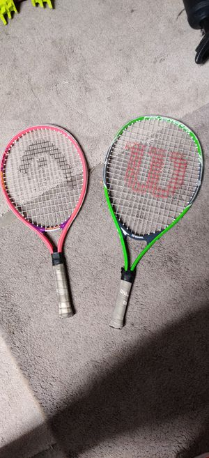 Kids tennis rackets for Sale in Fresno, CA