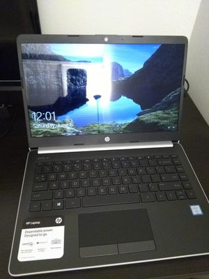 "HP Notebook - 14"" Laptop- Core i3-8130U, 2.2GHz, 8GB RAM, 128GB SSD for Sale in Hillsboro, OR"