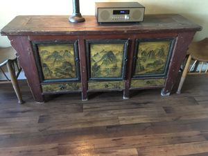 Antique Asian Buffet/Sideboard for Sale in Los Angeles, CA