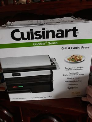 Panini maker grill for Sale in New Britain, CT