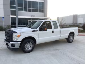2012 Ford F-250 XL super duty quad cab long bed (((work truck)) for Sale in Corona, CA