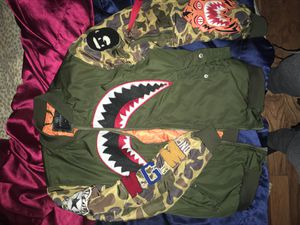 BAPE JACKET for Sale in Rocky Face, GA