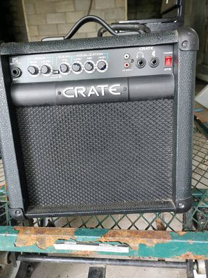 Crate guitar amp for Sale in Charleroi, PA