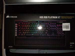 Corsair K95 Platinum XT Mechanical Gaming Keyboard for Sale in HUNTINGTN BCH, CA