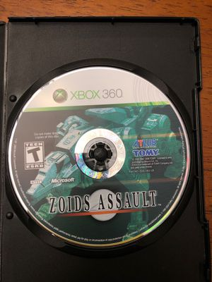 Zoids Assault Xbox 360 game for Sale in Phoenix, AZ