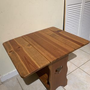 Vintage Foldable Table for Sale in Gaithersburg, MD