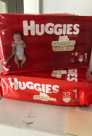 Huggies 32 count size 1 for Sale in Long Beach, CA