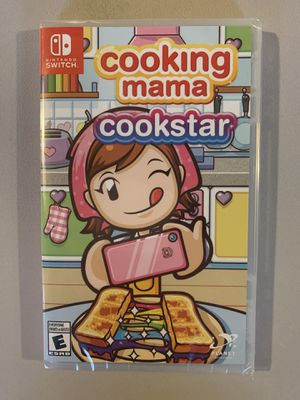 Cooking mama cookstar game for Nintendo switch brand new for Sale in Clinton Township, MI