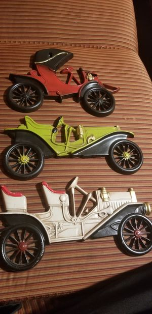 ANTIQUE collection of diecast car models wall Art for Sale in Fairfax, VA
