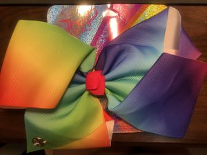 Large Jojo siwa rainbow bow for girls 8 inch for Sale in Azusa, CA
