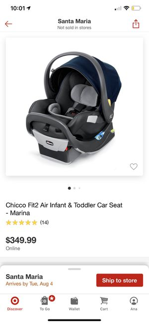Chicco fit2 infant & toddler car seat for Sale in Santa Maria, CA