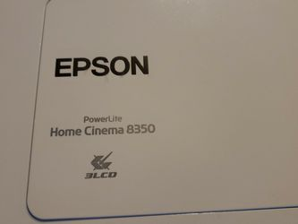 Epson Powerlite 8350 Home Cinema 3lcd for Sale in Pennsburg,  PA