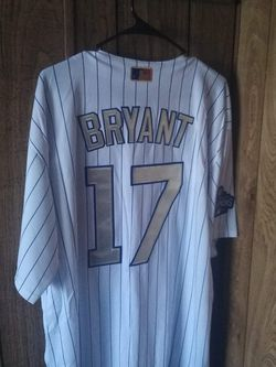 Sports Card With Kris Bryant Cubs World Series Majestic Jersey for Sale in Galesburg,  IL