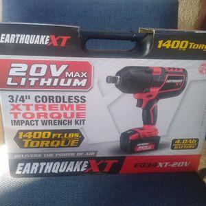 Earthquake 3/4 Torque Impact Gun for Sale in Madera, CA