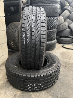 255/70/16 used tires 255-70-16 llantas usadas for Sale in Fontana, CA