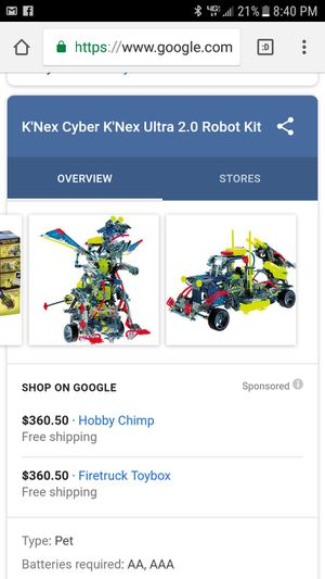 Knex cyber ultra 2.0 for Sale in Lancaster, OH