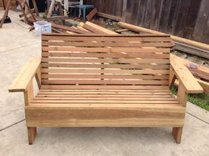 Redwood outdoor furniture for sale for Sale in Antioch, CA