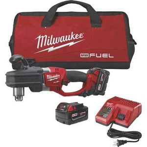 Milwaukee M18 FUEL Li-Ion Cordless Hole Hawg Right Angle Drill Kit— 1/2in. Chuck, 1200 RPM, Model# 2707-22 for Sale in San Diego, CA