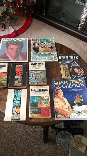 Star Trek lot books magazines toy for Sale in Cincinnati, OH