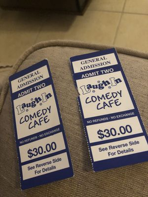 Tickets 2 for 30 for Sale in Cape Coral, FL