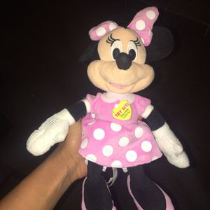 Talking Minnie Mouse Stuffed Toy for Sale in Willingboro, NJ