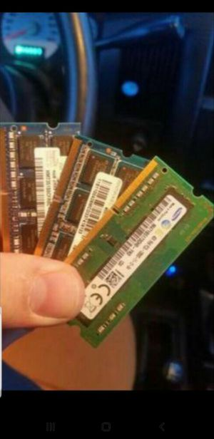 LAPTOP RAM (Dr2,Dr3,Dr4), SSD/Solid STATE HDrive's, Reg. SATA HDrive's, Chargers, Apple parts, other LAPTOP parts available + for Sale in Spokane, WA