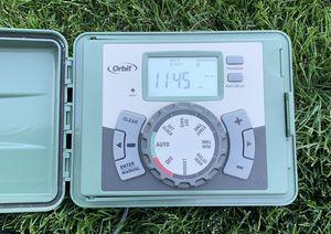 Orbit 6-Station Outdoor Swing Panel Sprinkler System Timer for Sale in Redmond, WA