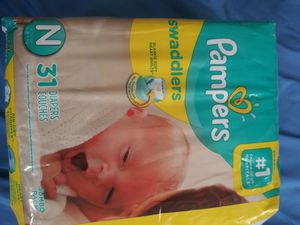 New born pampers for Sale in Phoenix, AZ