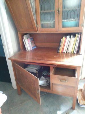 Antique Hoosier cabinet for Sale in Denham Springs, LA