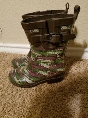 Kid's Camo Rain Boots for Sale in Bedford, TX