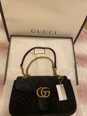 Gucci Black Velvet medium size Hand Bag for Sale in Castro Valley, CA