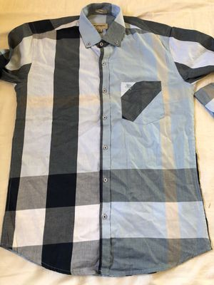 Burberry men's shirt size M slim fit for Sale in La Mirada, CA