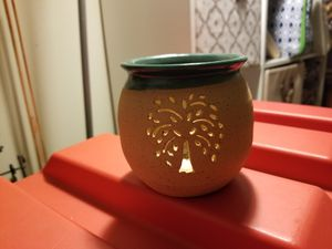 Clay pottery candle holder for Sale in Columbus, OH