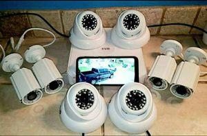 8 x Security Cameras-Se Habla Espanol for Sale in Arlington, TX