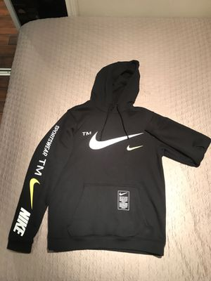Nike Black/White/Volt Pullover Hoodie for Sale in Haltom City, TX
