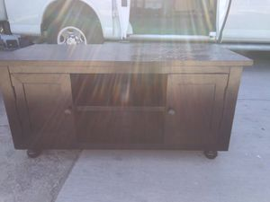 Wooden TV stand w/Compartments for Sale in Chicago, IL