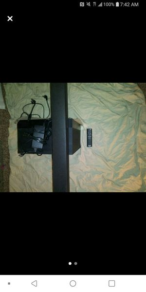 Samsung sound bar and sub for Sale in Chico, CA