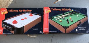 Air hockey and pool table brand new for Sale in Port St. Lucie, FL
