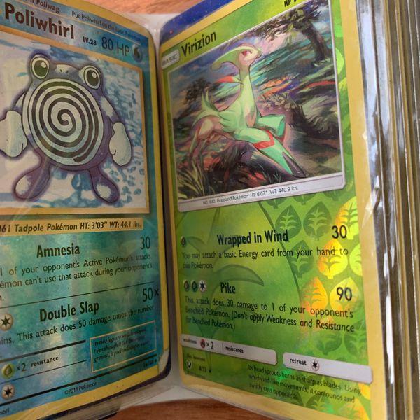 POKÉMON CARD BINDER FULL HOLOS ONLY!! 44 HOLOGRAPHIC POKÉMON POKÉMON