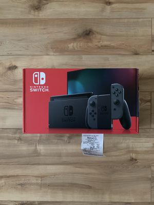 Nintendo Switch With Grey Joy-Con for Sale in Granbury, TX
