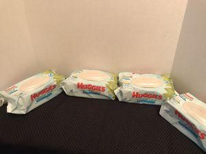 Huggies Natural care wipes (4 packs) for Sale in Lilburn, GA