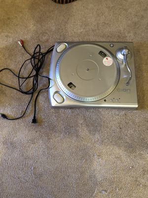 ION Audio ITTUSB USB TurnTable Receiver silver 2007 for Sale in Buena Park, CA