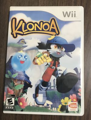 Klonoa for Nintendo Wii video game system complete nes for Sale in Cleveland, OH