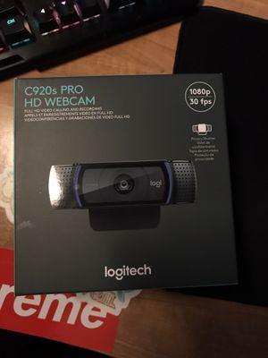 Logitech c920s pro hd webcam for Sale in Sacramento, CA