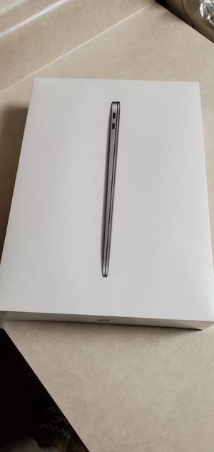 Brand New Macbook Air Space Grey 2019 touch id for Sale in Stockton, CA
