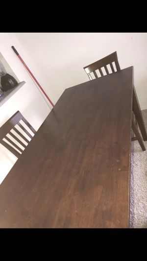 """Dining room table 2ft 30"""" by 5ft good condition for Sale in Portland, OR"""