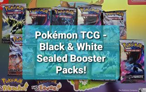 Pokemon TCG Black & White Base Set, Sealed Booster Packs for Sale in Chesilhurst, NJ