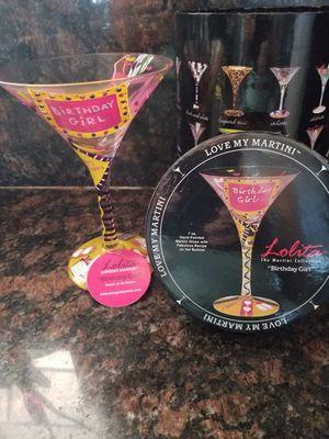 Birthday girl glass for Sale in Los Nietos, CA